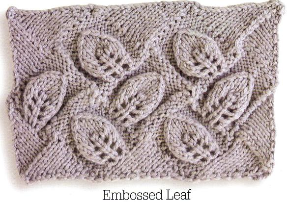 How To Knit A Leaf Pattern : Entrelac Scarf Knitting Pattern Entrelac Knitting Patterns