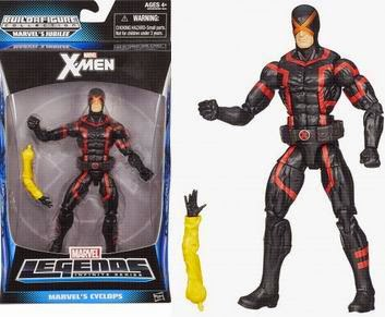 """X-Men Action Figures Toys """"R"""" Us exclusive, Stryfe, Marvel Now Cyclops, Marvel Now Storm, classic Magneto, Wolverine, Jubilee"""