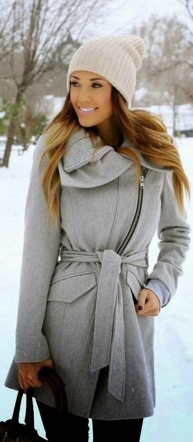 Best High Fashion with Grey coat