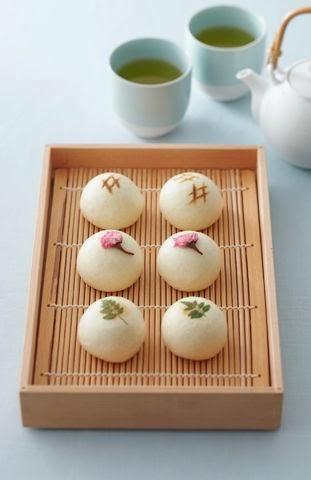 Home » 創意糕點 » 【創意糕點】日式饅頭 Japanese sweets