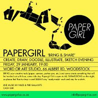 Papergirl in Capetown