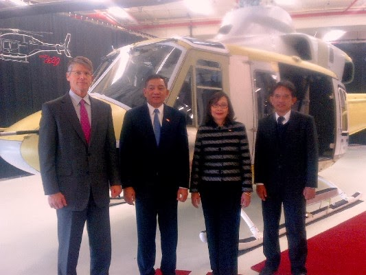 Bell Helicopter Jadikan PT DI Partner Global