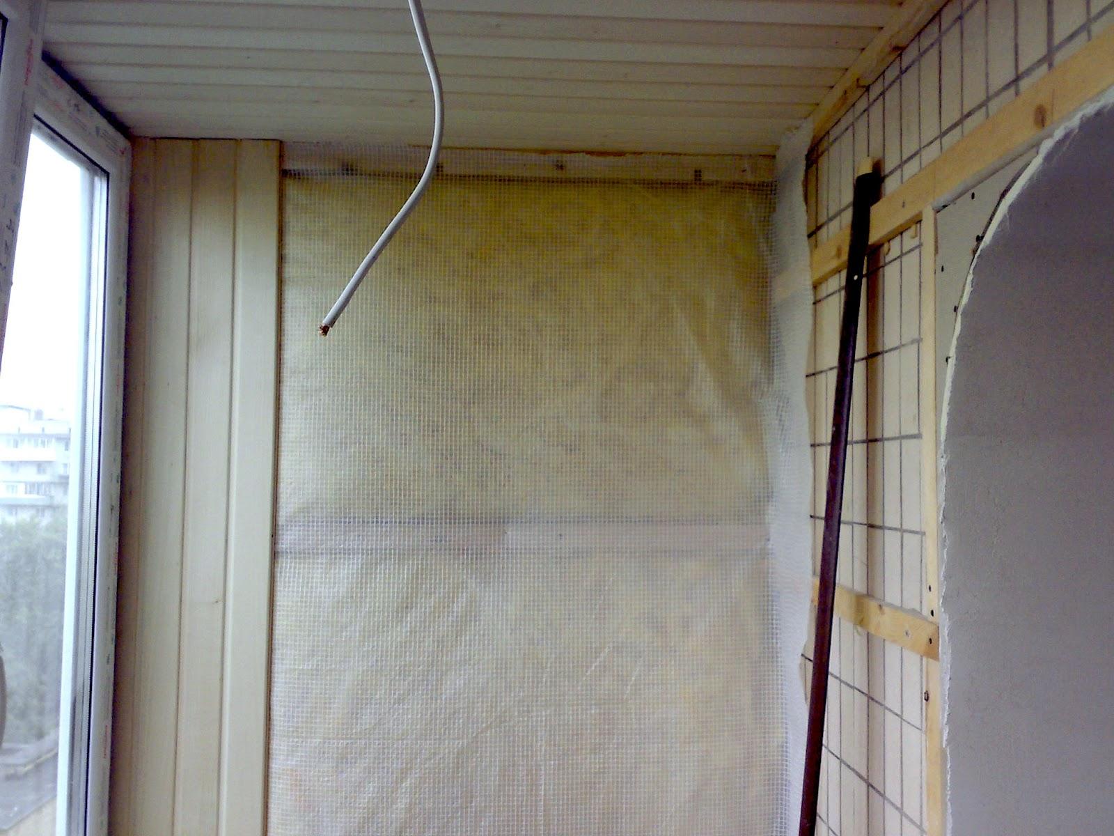 Отделка потолка балкона своими руками вагонкой