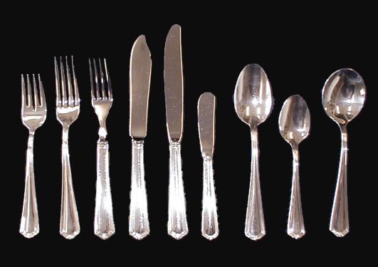 Pine Creek Style: Types of Flatware and Their Care