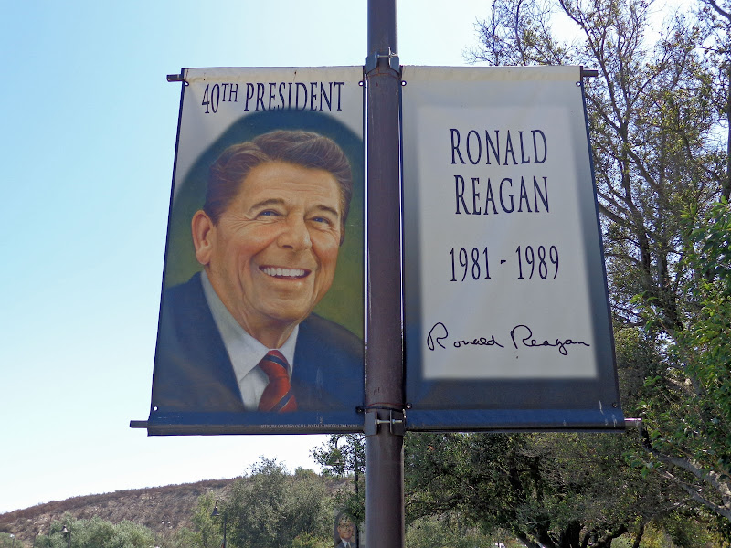 Day trip ~ Reagan Library and Disney Exhibit title=