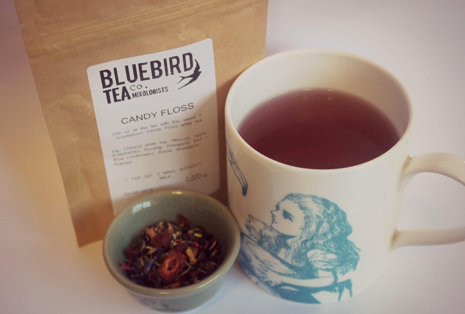bluebird spring tea