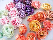 Мастер-класс розы из акварельной бумаги