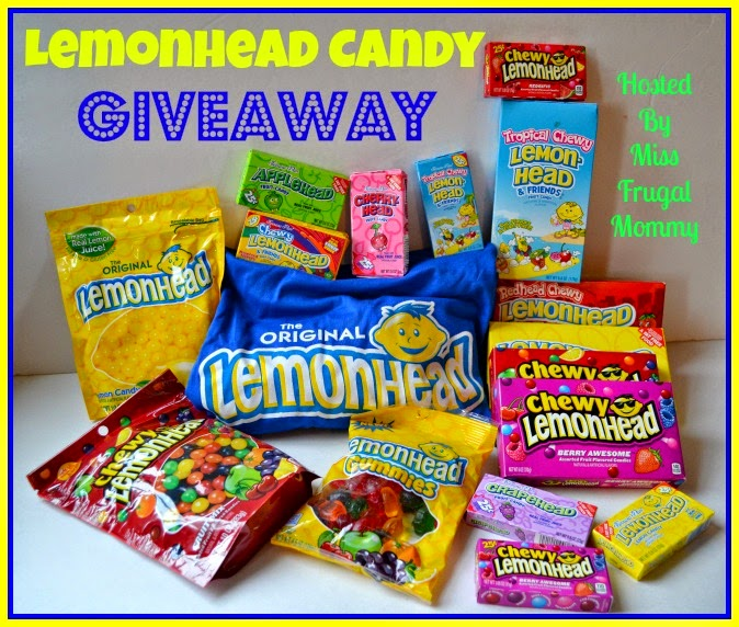 Lemonhead Candy Prize Pack Giveaway
