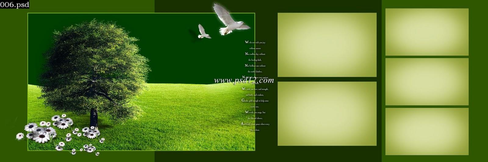 Photoshop Backgrounds 48 Karizma Photo Album Psd Template