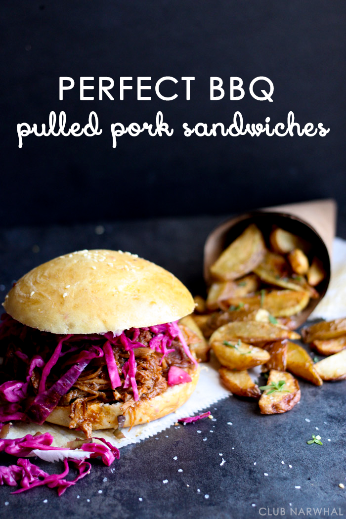 Slow Cooker BBQ Pulled Pork Sandwiches | An easy summer meal to feed a crowd!