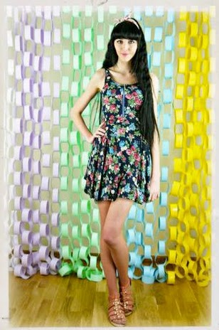 Lovestruck Lucy Retro Floral Skater Dress
