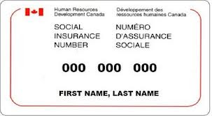 Canadian Social Insurance Number (SIN) - Fake Name Generator