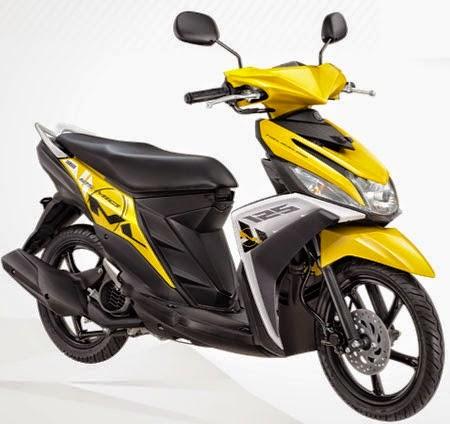 yamaha mio m3 trending yellow