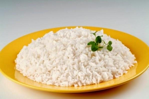 Comida vegetariana arroz a la cubana dietas sanas para - Comidas con arroz blanco ...