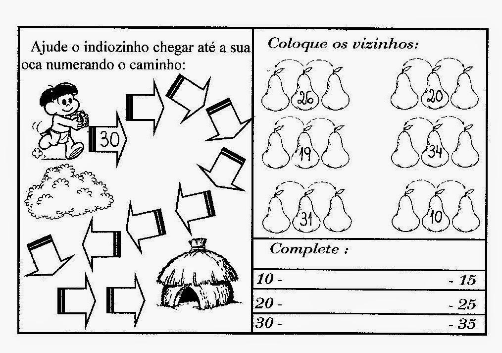 Pedagogia Cia Atividades De Matemática Do 2º Ano Para Imprimir