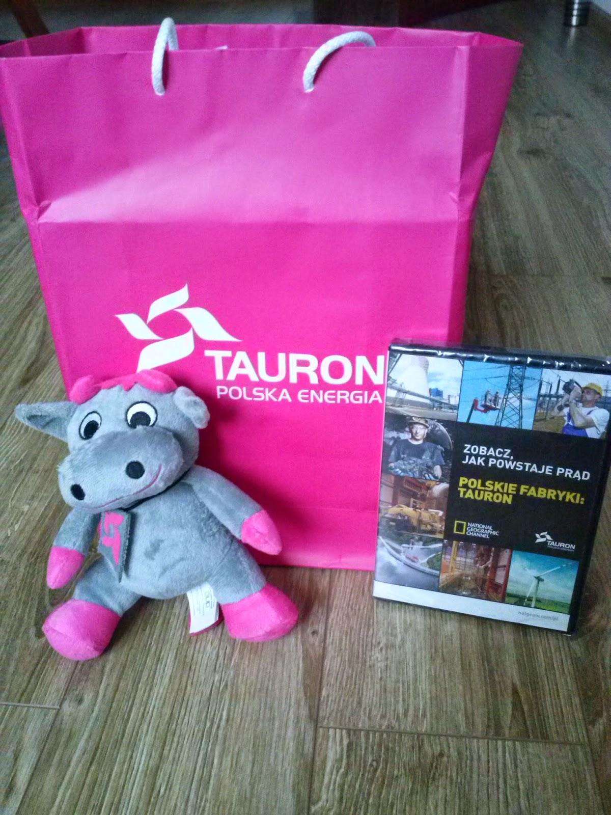 Gadżety od Tauronu