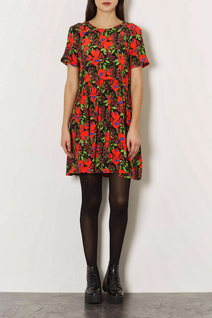 topshop poppy dress