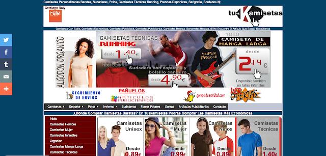 www.tuskamisetas.com Tienda de Camisetas Personalizadas en España