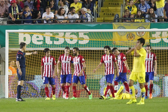 Villarreal 1 x 0 Atlético de Madrid - Campeonato Espanhol(La Liga) 2015/16