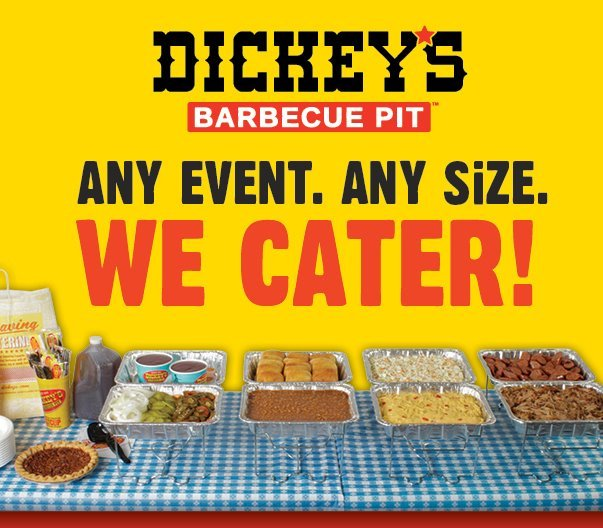 About Dickey's Barbecue Pit For over 75 years, we have served up everything from beef brisket and pulled pork to Polish sausage and chicken. Today, every location smokes all of their meats on-site the same way it was done in