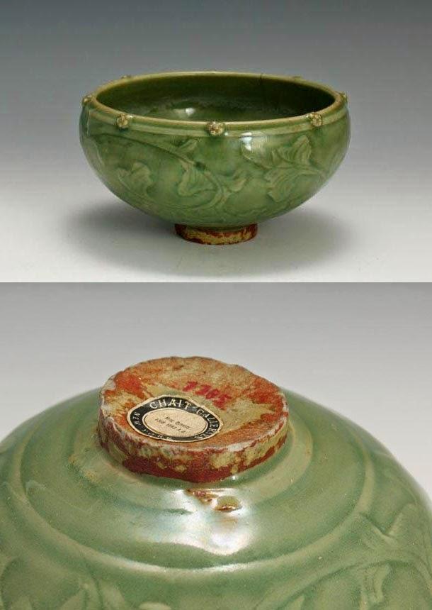 "<img src=""ming celedon bowl.jpg"" alt=""Longquan Celadon with foot rim"">"