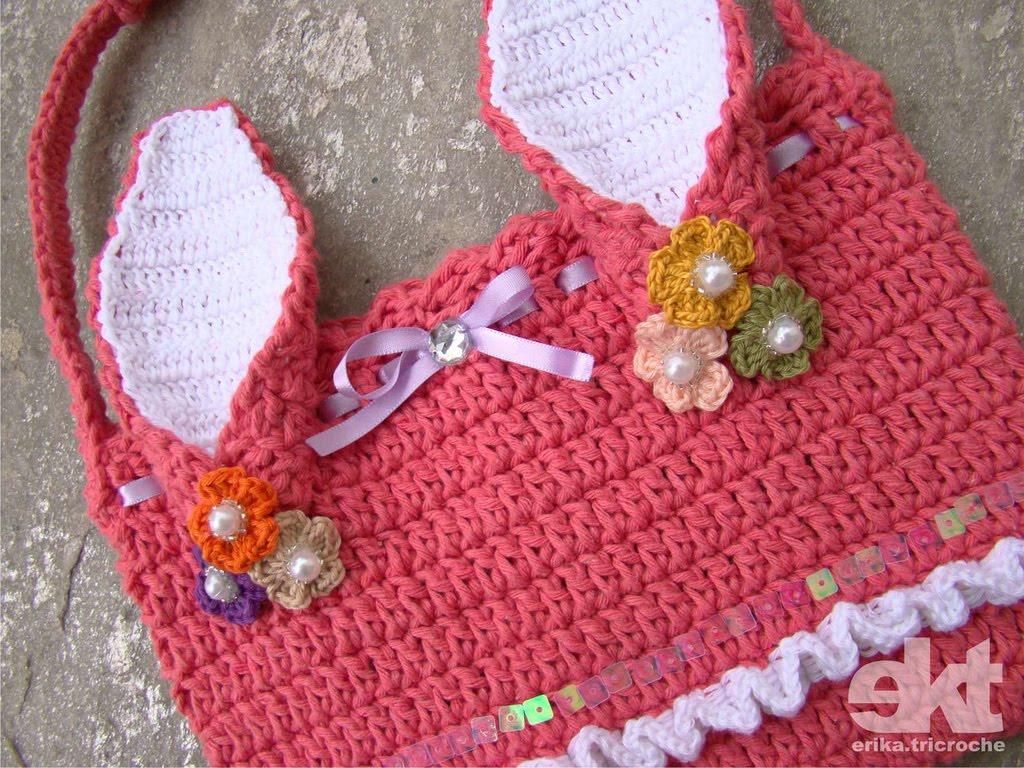 Crochet Knitting Bag : bag crochet