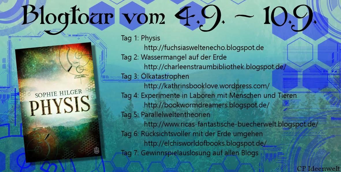 """Blogtour - """"Physis"""" - 04.09. - 10.09."""