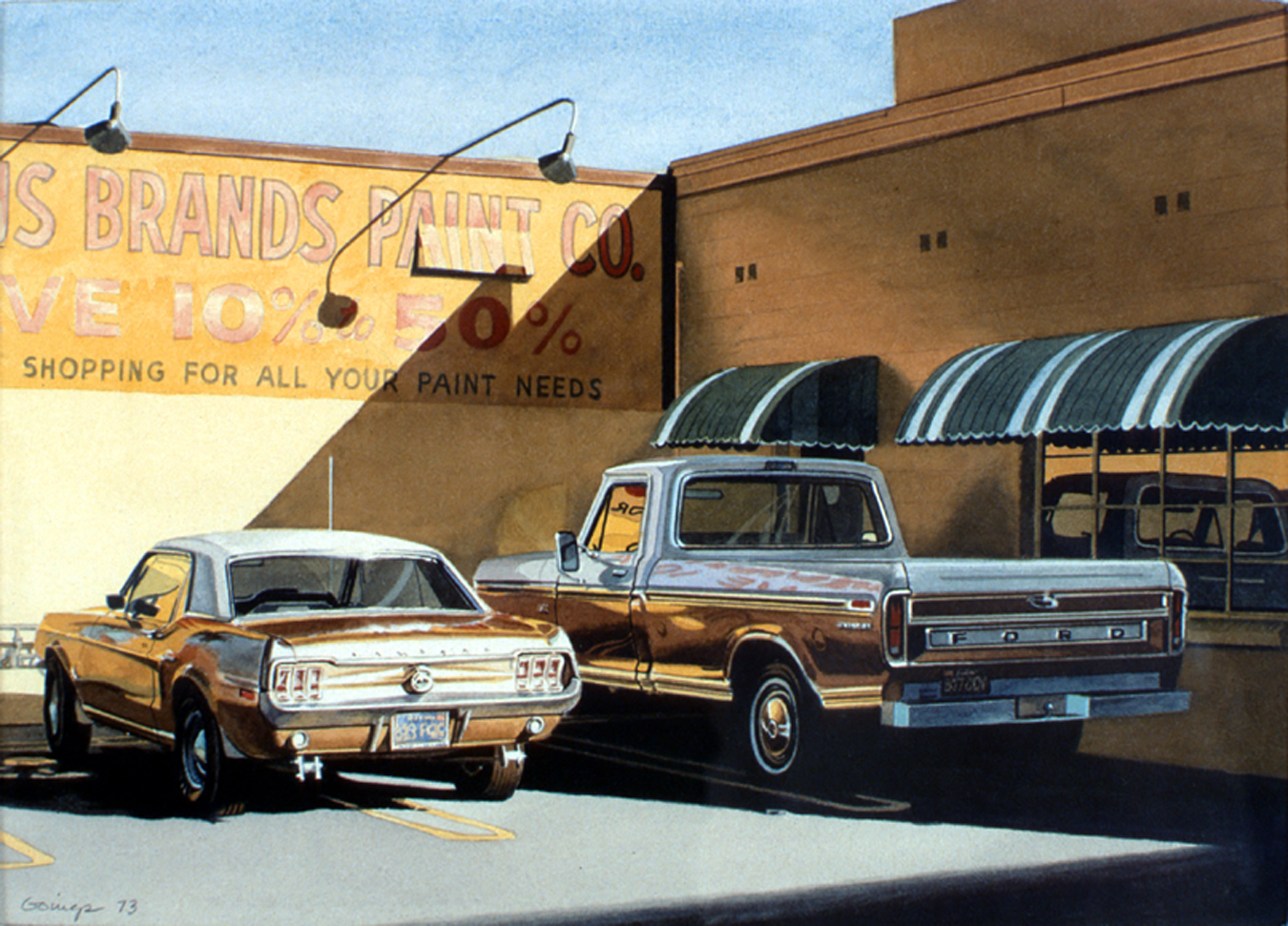 04-Famous-Brands-Paint-Ralph-Goings-Hyper-Realistic-Paintings-of-Everyday-Scenes-www-designstack-co