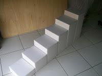 escadas para cães de pequeno porte