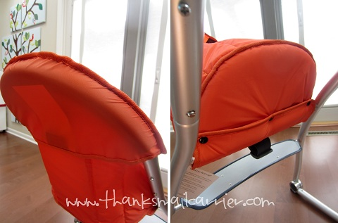 Babyhome high chair construction