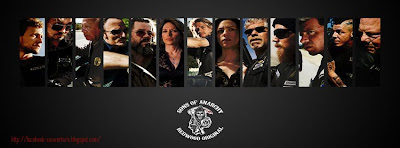 Couverture pour journale facebook sons of anarchy