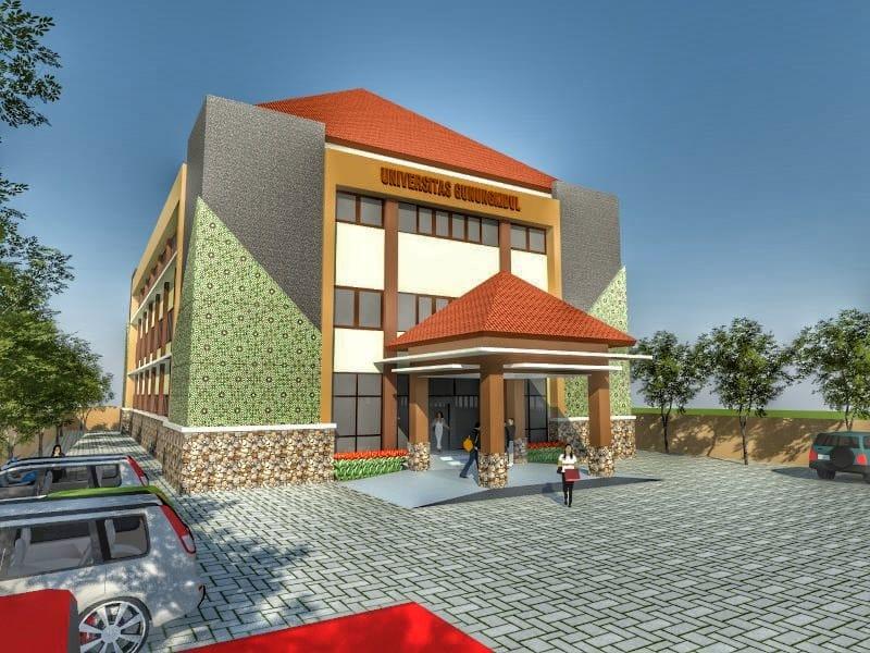 Kampus Baru Universitas Gunungkidul