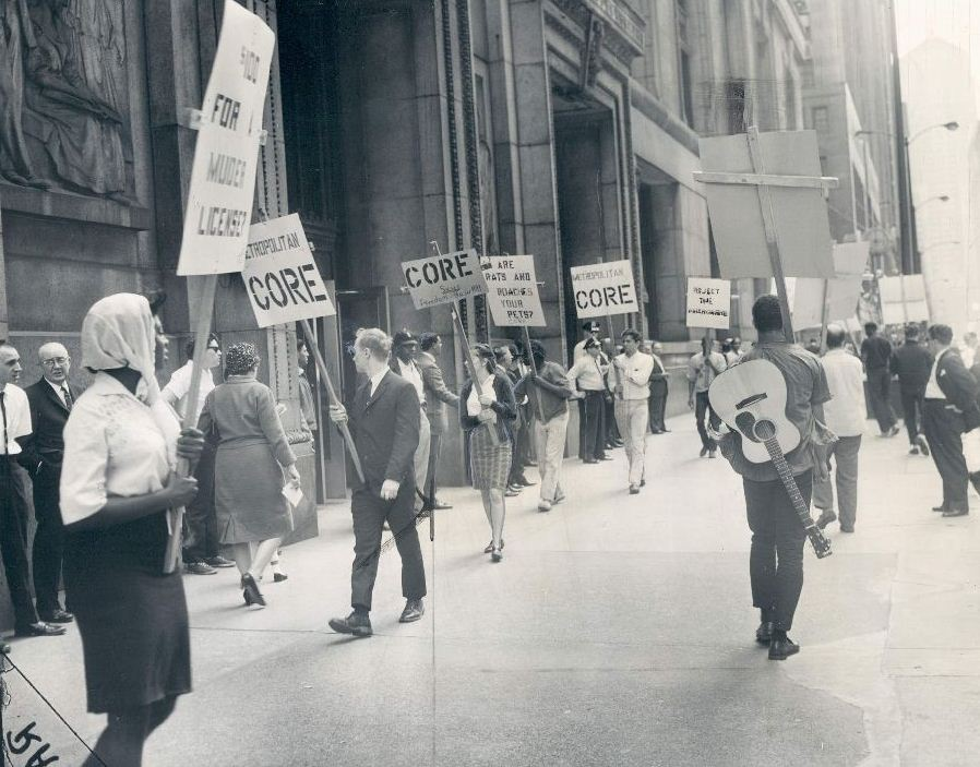 congress of racial equality The congress of racial equality (core) was founded in 1942 by a group of students in chicago early members included george houser, james farmer, anna murray and bayard rustin.