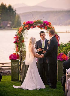 Alderbrook wedding