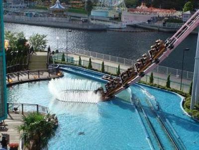 """Vanish"" Underwater Roller Coaster Japan."