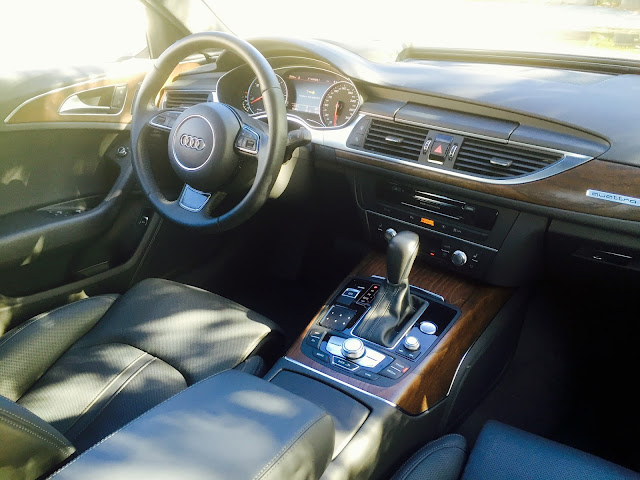 2016 Audi A6 Technik interior