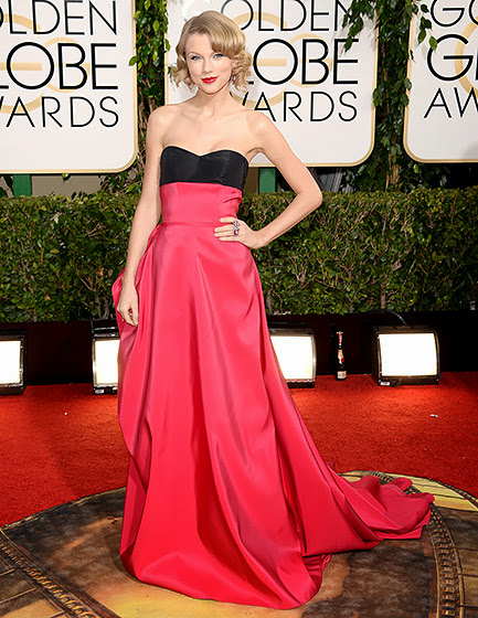 Taylor Swift in Golden Globes 2014