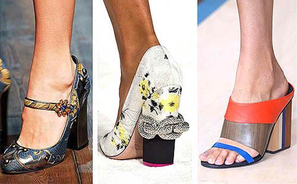 Chunky Heels Trend