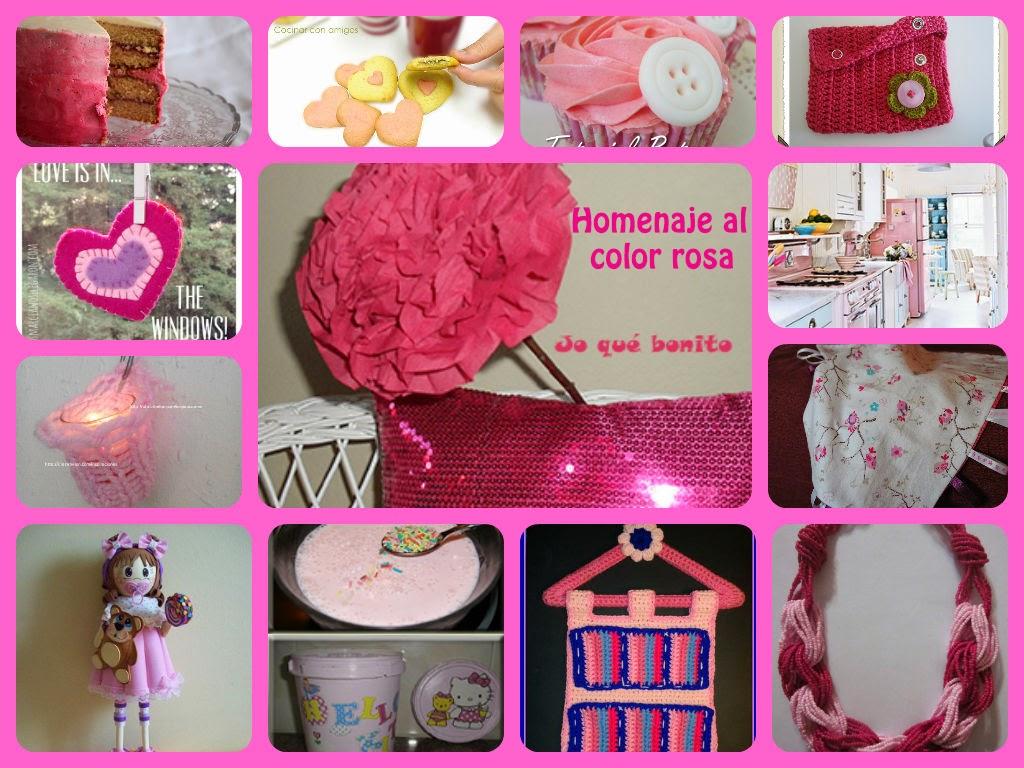 Homenaje al color rosa