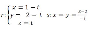 distancia entre rectas paralelas fórmula ejercicios