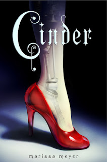 Book cover of Cinder by Marissa Meyer