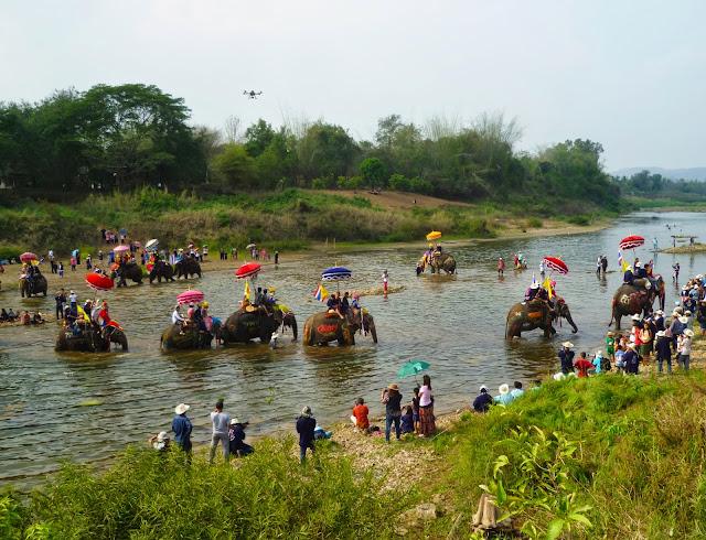 Haat Siao Elephant Festival