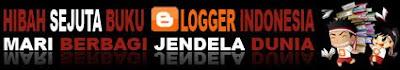 Hibah Sejuta Buku ala Blogger Fase Ketiga