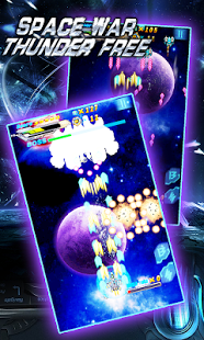 Screenshots of the Space War Thunder for Android tablet, phone.