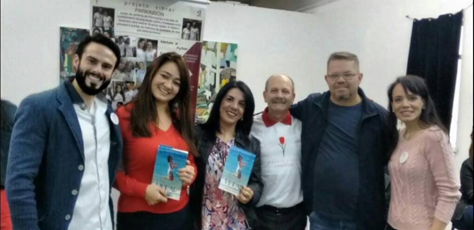 Raphael, Tatiana, Carla, Manoel, Marcio e Danielle