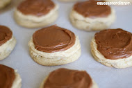 Best Ever Frosted Peanut Butter Cookies
