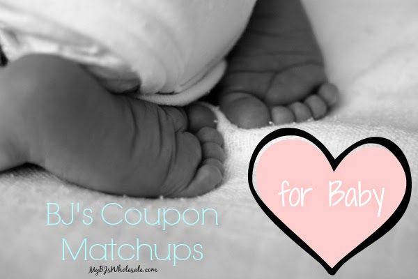 BJ's Coupon Matchups for Baby