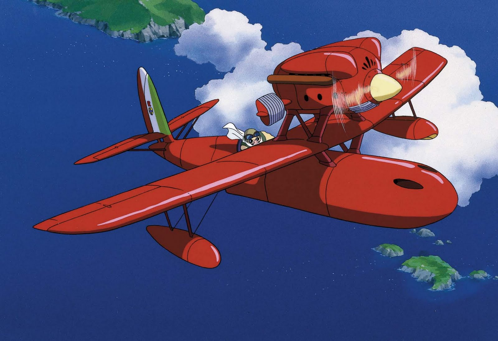 Practical Analysis of Studio Ghibli Film Aircraft: Porco Rosso Aircraft