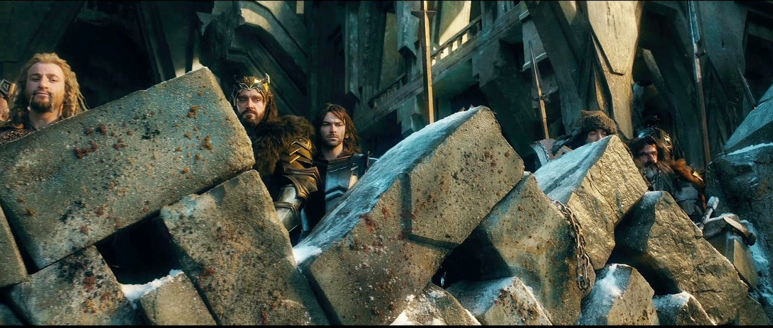 El Hobbit: La Batalla de los Cinco Ejércitos, thorin, fili, kili, enanos, richard armitage, peter jackson, el zorro con gafas