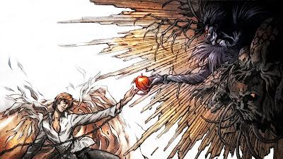 Death Note | Wallpaper | Light Yagami | Ryuk | Apple